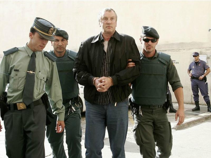 Задержание Геннадия Петрова на Майорке