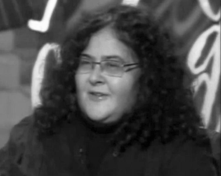 """Елена Гремина // стоп-кадр, программа """"Школа злословия"""", 2010 год"""
