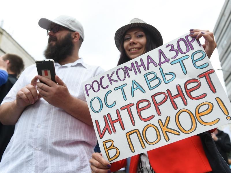 Митингующие // Фото: Global Look Press