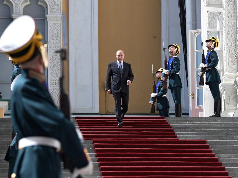 Инаугурация Владимира Путина в Кремле 7 мая 2018 года // фото: Global Look Press