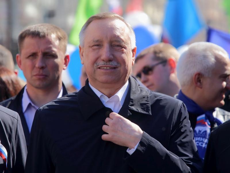 Александр Беглов // фото: Zamir Usmanov / Global Look Press
