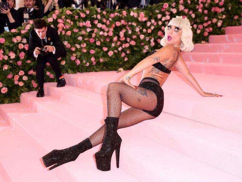 Леди Гага на Met Gala-2019 // фото: Sonia Moskowitz / Global Look Press