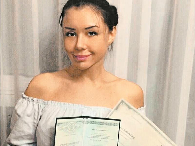 Верди часто демонстрировала свои дипломы