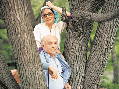 Елена Санаева с Роланом Быковым // фото: Global Look Press