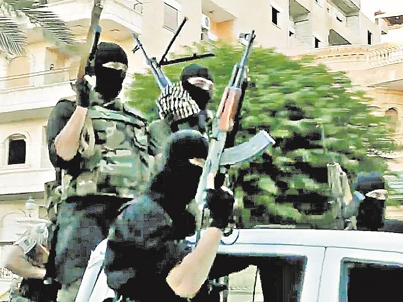 Боевики съезжались в ИГИЛ со всего мира // фото: Global Look Press