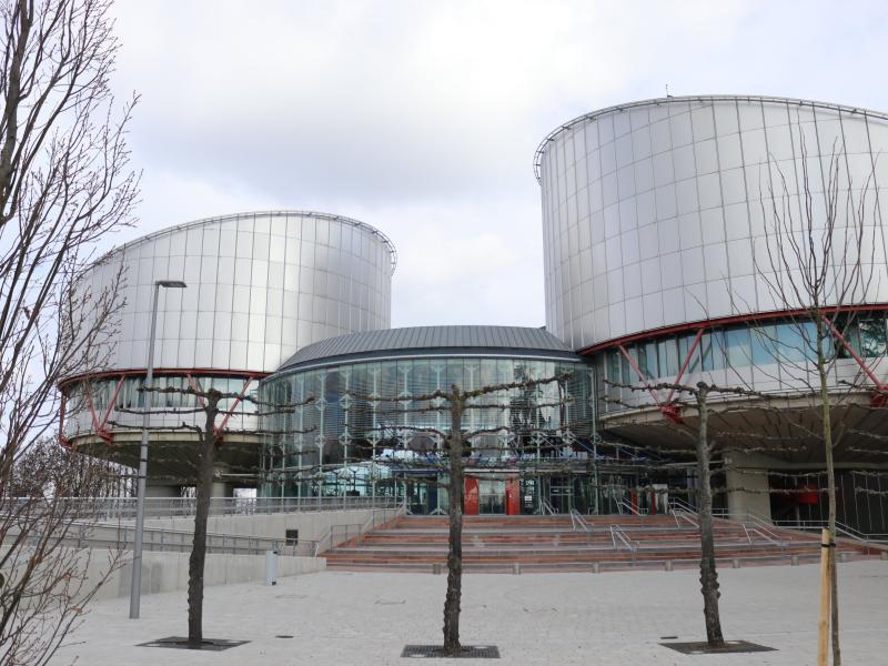 Здание ЕСПЧ в Страсбурге // фото: Violetta Kuhn / dpa / Global Look Press