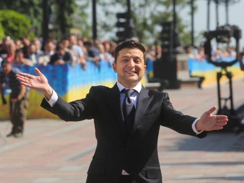 Владимир Зеленский // фото: Sergii Kharchenko / Global Look Press