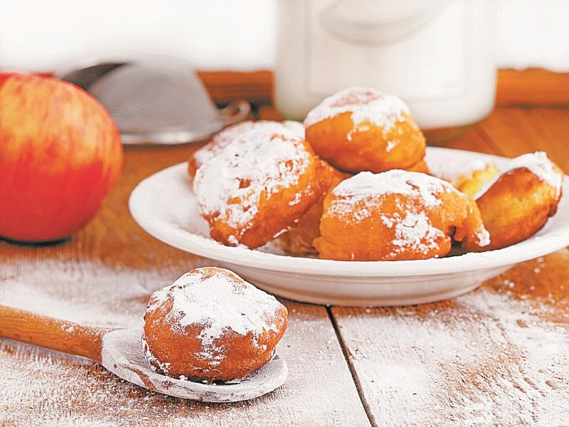 пончики с яблоком рецепт с фото