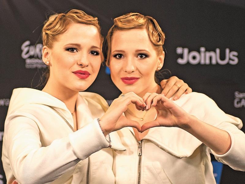 Сестры Толмачевы // фото: Eurovision.TV