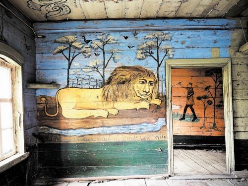 Дом со львом изнутри
