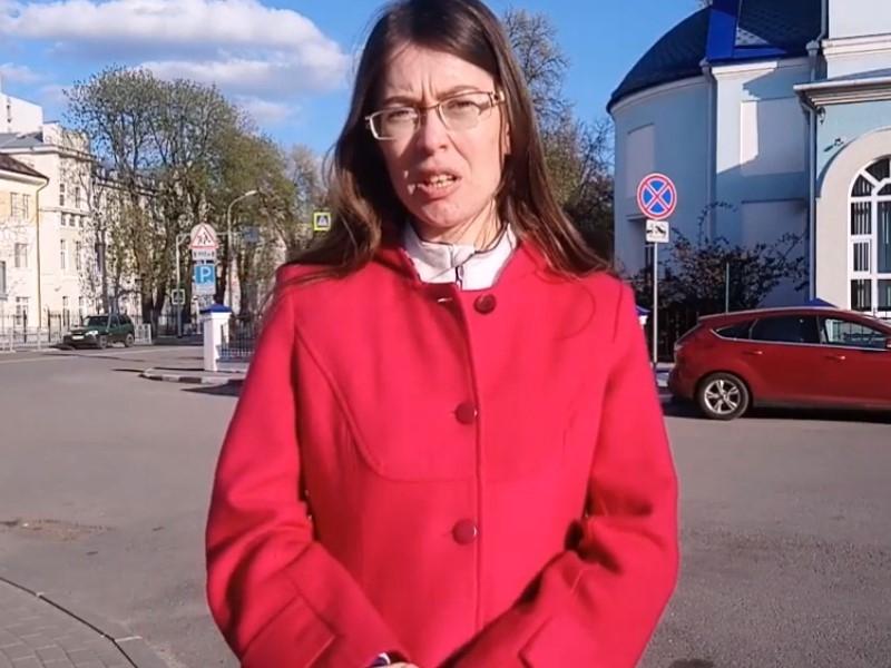 Надежда Белова // Скриншот с видео