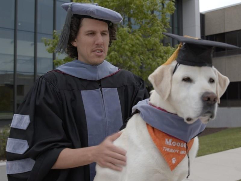 Скриншот с видео Virginia-Maryland College of Veterinary Medicine
