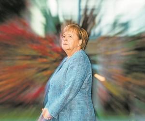 Ангела Меркель // фото в статье: Global Look Press