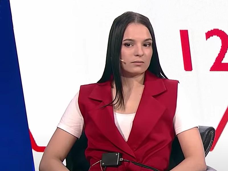 Арина Забара / фото: Программа «На самом деле» / скриншот Youtube