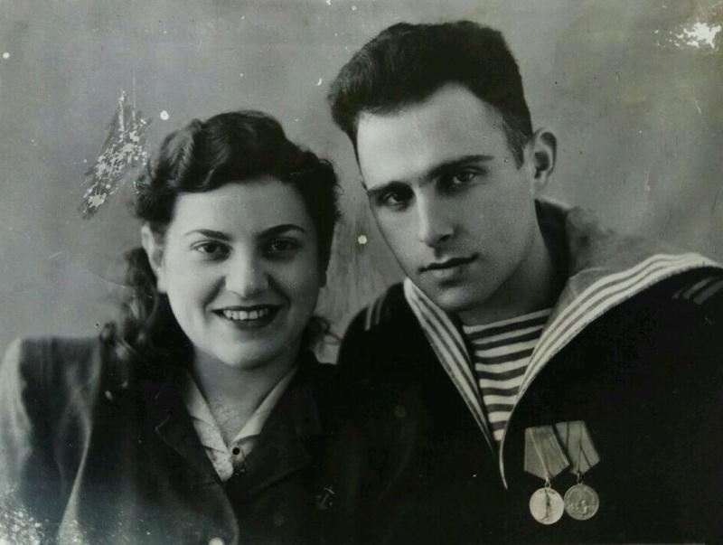 Лидия Листенгартен и Евгений Войскунский // Фото в статье предоставлены НПЦ «Холокост»
