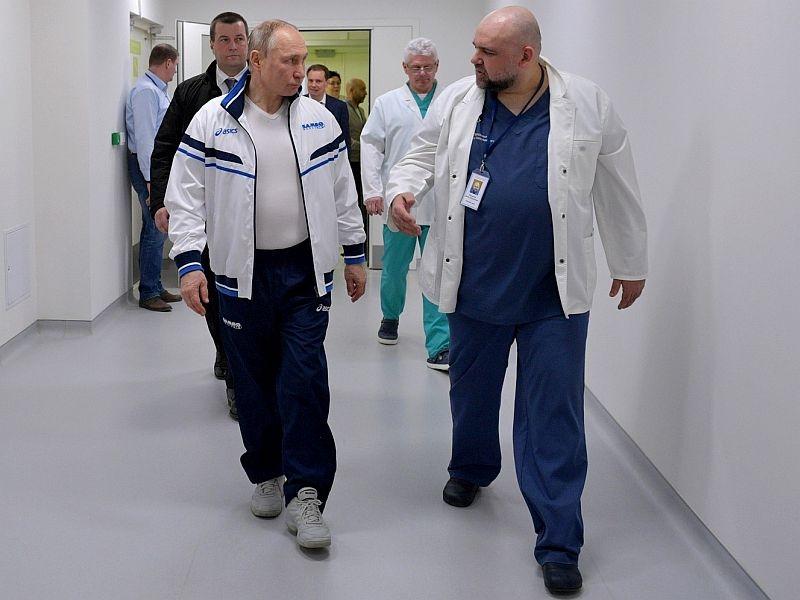 Денис Проценко с Владимиром Путиным // фото: Global Look Press