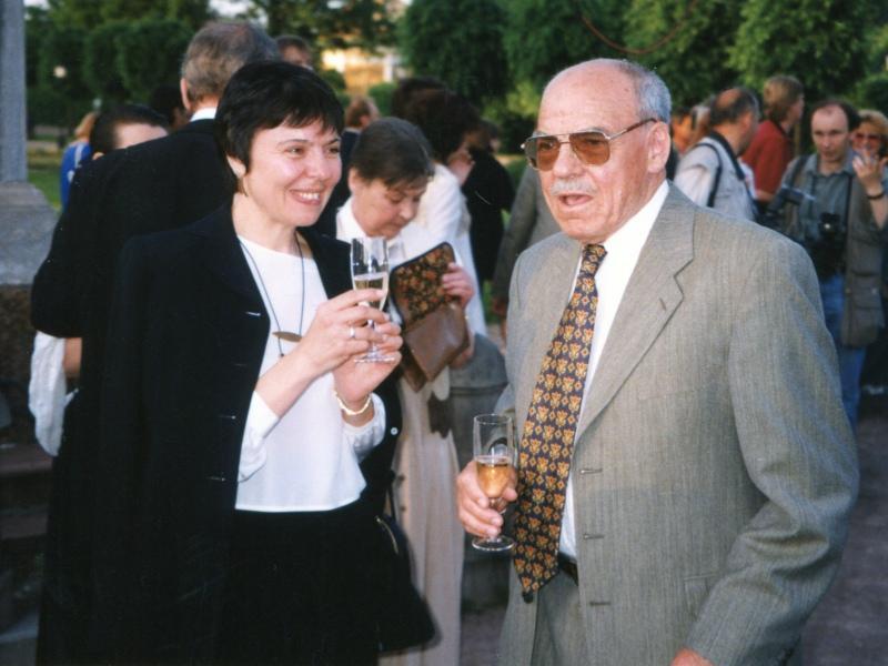 Михаил Глузский с дочерью