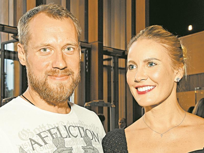 Елена Летучая с мужем // Фото: Global Look Press