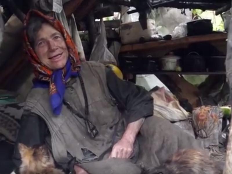 Агафья Лыкова // Фото: стоп-кадр YouTube