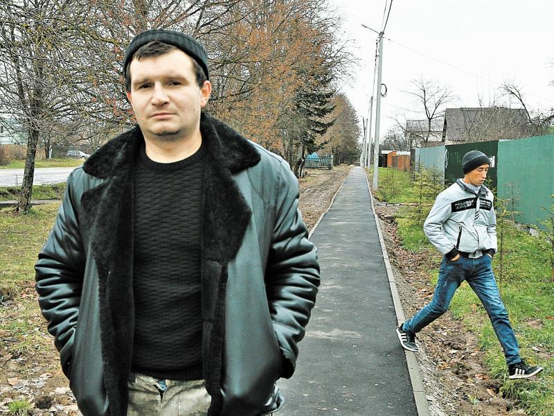 Местный Андрей Даниленко мигрантам не рад