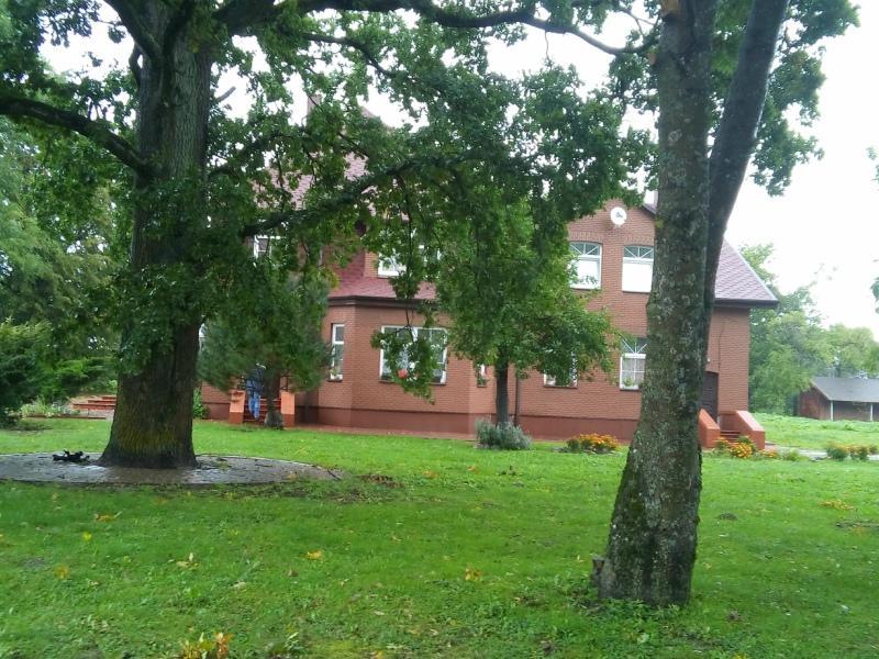 Дом, где останавливается Лужков