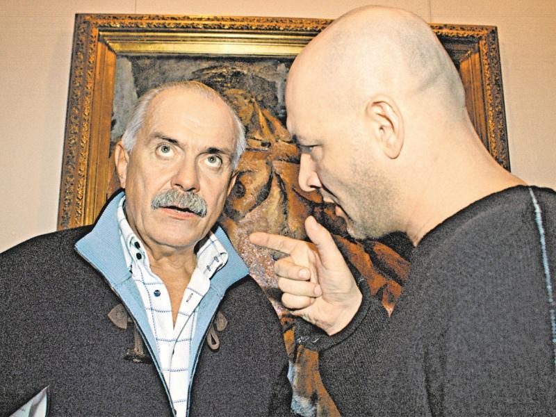 Михалков и Суханов обсуждают образ Сталина в фильме «Утомленные солнцем 2»