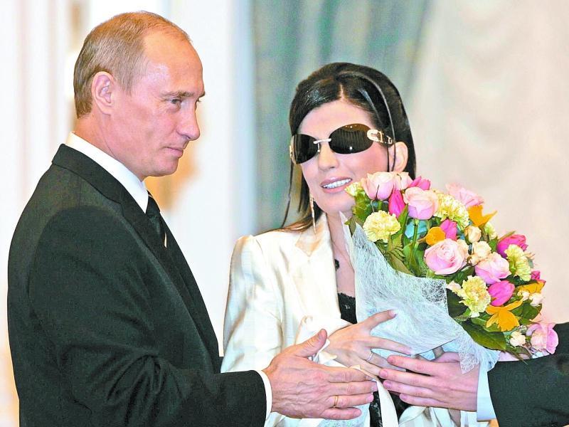 На награждении президентом в Кремле