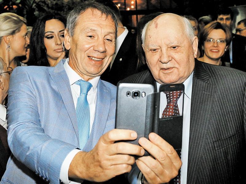 Селфи с Горбачевым – дело святое