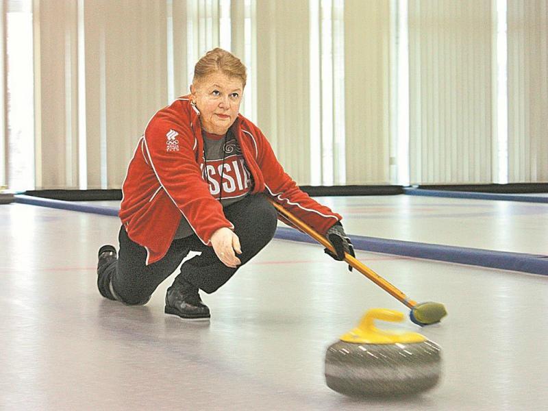 Людмила Мурова // Фото: curlingrussia.com