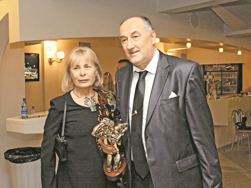 Борис Клюев с женой Викторией в браке с 1975 года