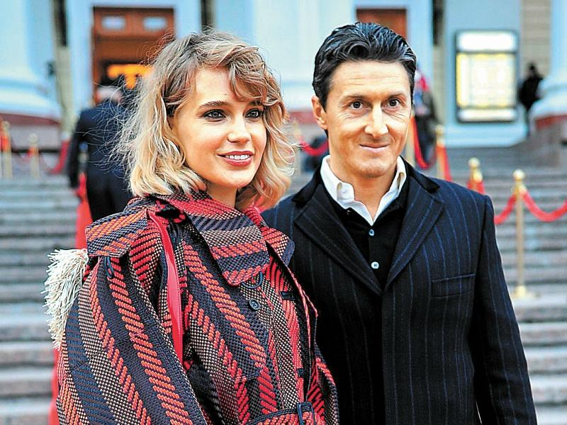 Певица Глюкоза с супругом // Фото: Global Look Press