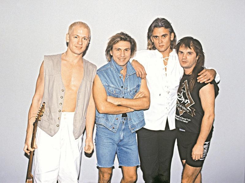 В этом году группе «Парк Горького» исполняется 30 лет