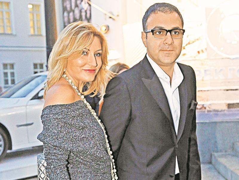 Гарик Мартиросян с супругой Жанной // фото: Александр Алешкин