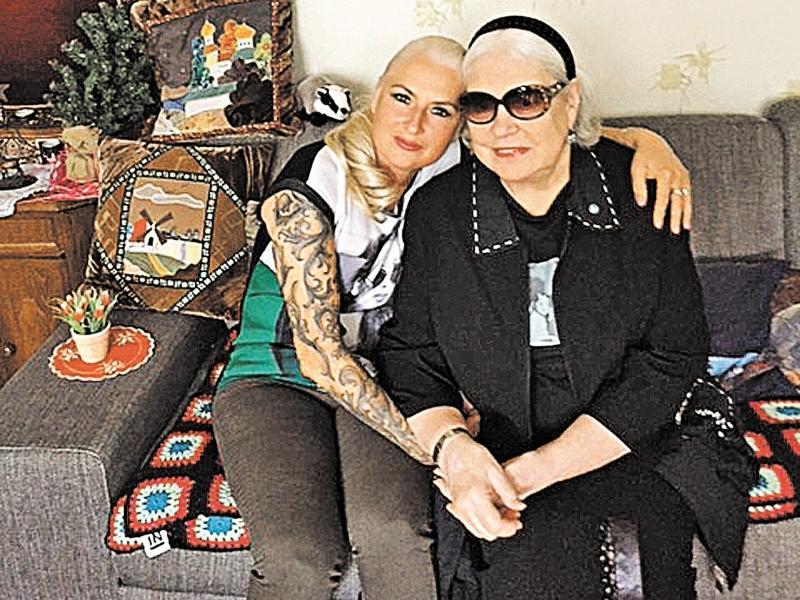 Лидия Федосеева-Шукшина с бизнес-леди Веерой Хеленой Рейникайнен