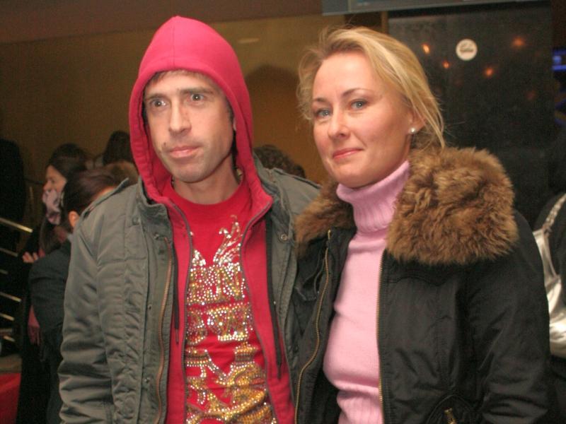 Максим Покровский с супругой Татьяной // фото: Олег Дьяченко / ИТАР-ТАСС
