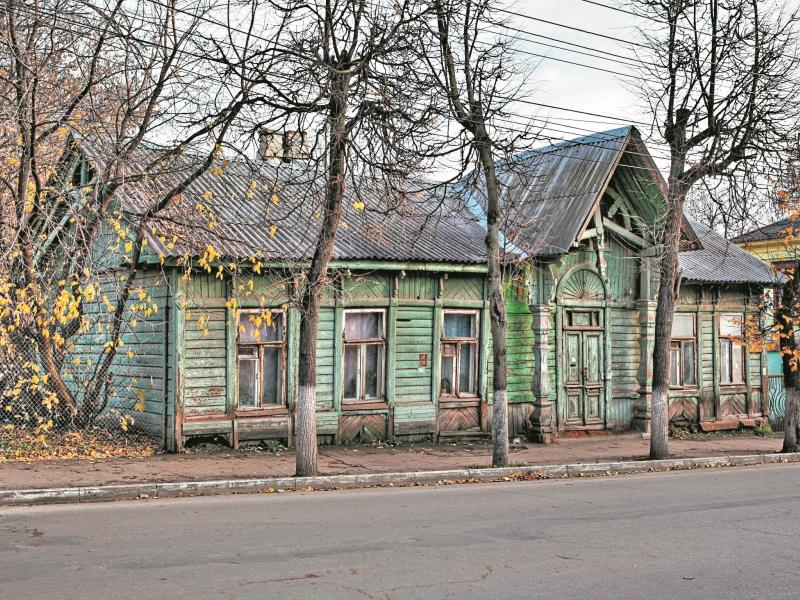 Дом архитектора Яковлева до ремонта