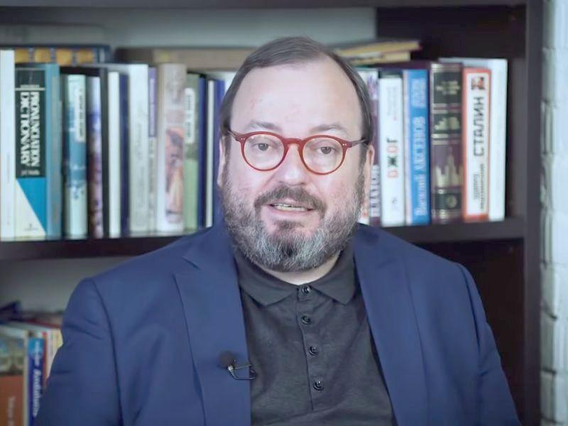 "Станислав Белковский // стоп-кадр / Youtube / ""Белковский ТВ"""