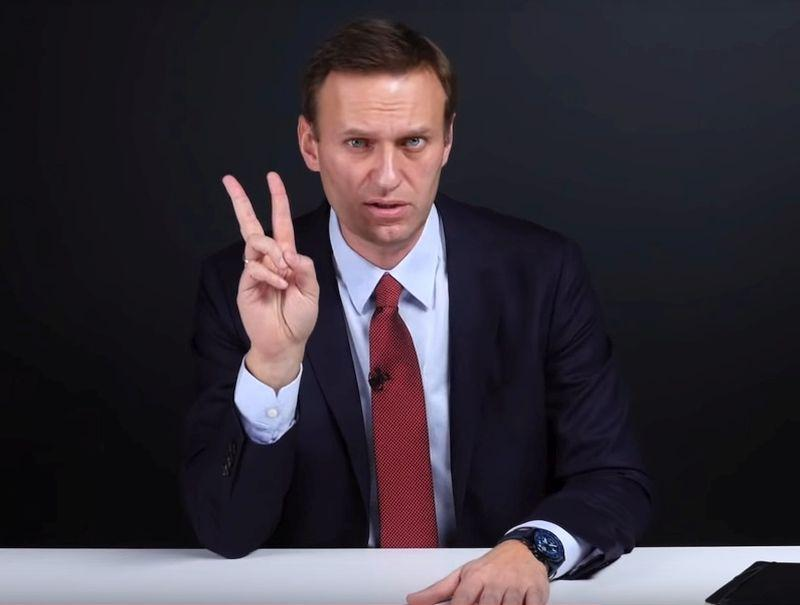 Алексей Навальный // стоп-кадр / YouTube