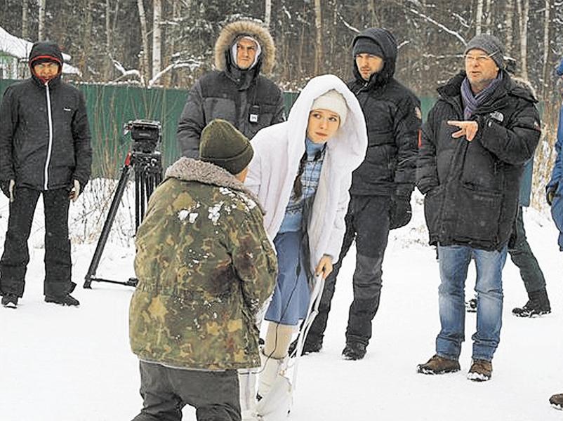 Сергею Урсуляку (справа на фото) нравится не снимать, а думать о работе
