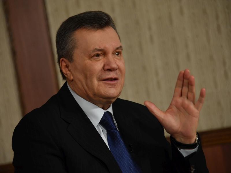 Виктор Янукович на пресс-конференции в Москве (февраль 2017 года) // фото: Komsomolskaya Pravda / Global Look Press