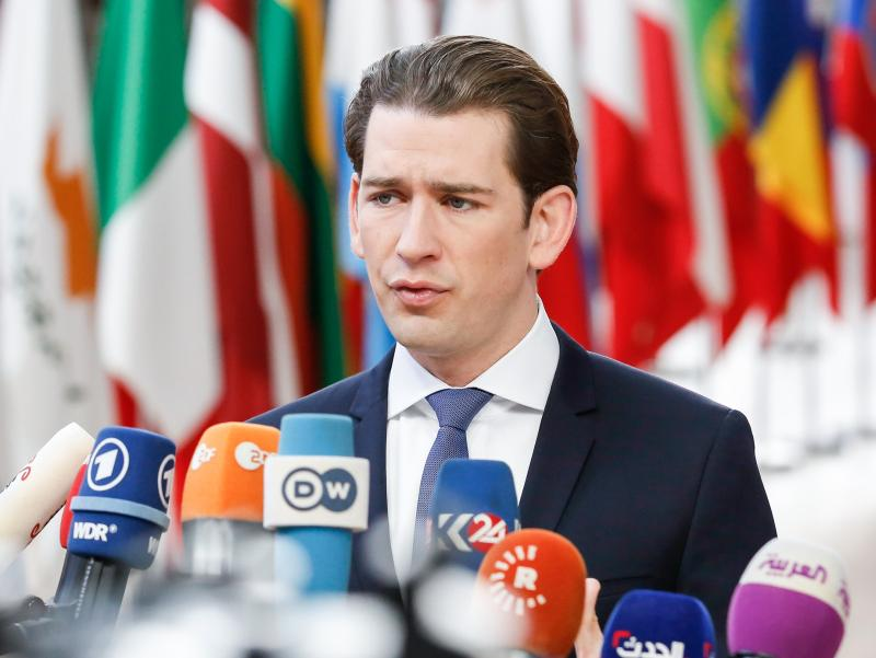 Премьер-министр Австрии Себастьян Курц // фото: Dominika Zarzycka / ZUMAPRESS.com / Global Look Press