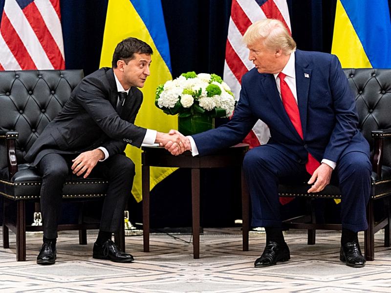 Владимир Зеленский и Дональд Трамп. Фото: Shealah Craighead / White House / Global Look Press