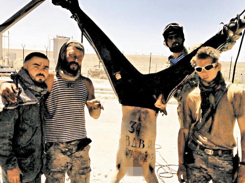 """Російські пропагандисти з Серакіба: """"По штурмовій групі вдарив безпілотник, машина """"швидкої"""" знищена ракетою - """"гуманні"""" методи війни від турків"""" - Цензор.НЕТ 2750"""