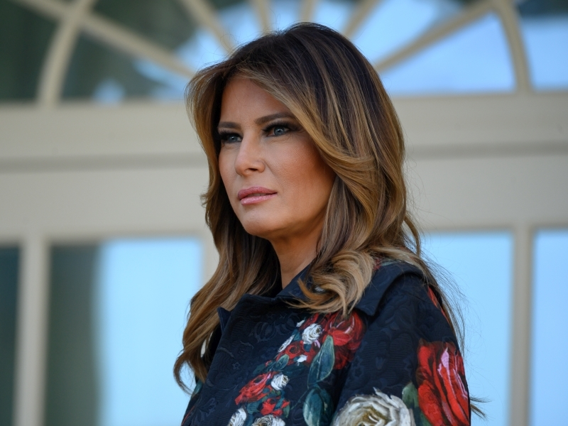 Меланья Трамп // фото в статье: Global Look Press