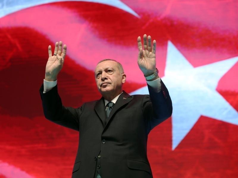Президент Турции Реджеп Эрдоган // Фото: Global Look Press
