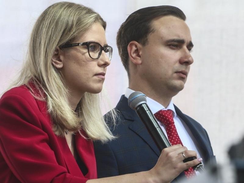 Любовь Соболь и Иван Жданов // Фото: Андрей Струнин, Sobesednik.ru