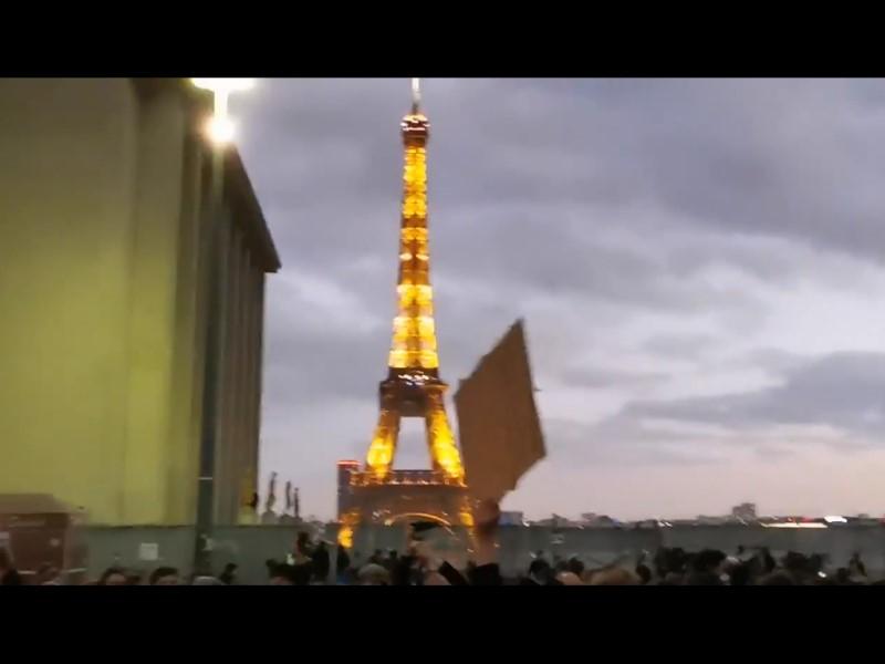 Протеста во Франции // Фото: скриншот с видео