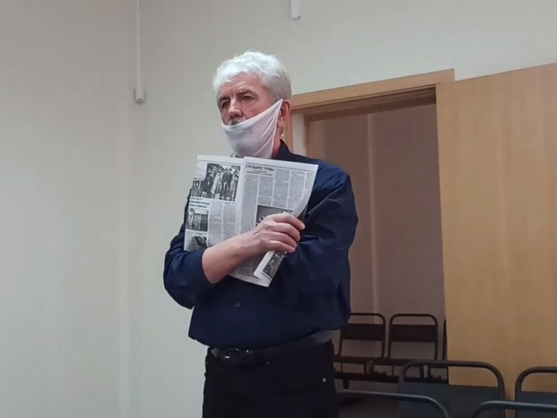 Станислав Терентьев // Скриншот с видео на YouTube