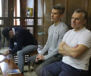 Магомед Магомедов, Зиявудин Магомедов и Артур Максидов // фото: Global Look Press