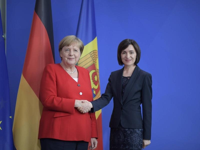 Ангела Меркель и Майа Санду // Фото: Global Look Press